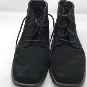 ECCO  Suede chukka boot 38 Black Ankle boot bootie